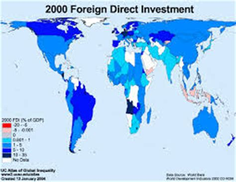 Bachelor thesis foreign direct investment
